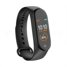 M4 Smart Band 4 Kebugaran Tracker Olahraga Tahan Air Heart Rate Tekanan Darah Smartband Monitor Kesehatan Gelang PK M3 Band(China)