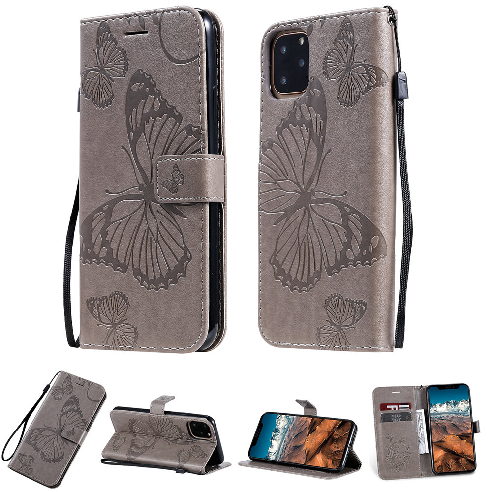 Butterfly Leather Wallet Case for iPhone 11/11 Pro/11 Pro Max 9