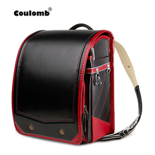 Children Backpack Coulomb Randoseru Bookbag School-Bag Orthopedic Japanese Kids Student