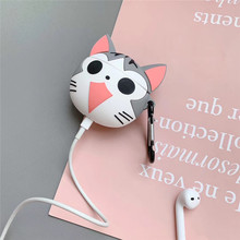 For AirPods 2 Case 3D Cute Cat Cartoon Soft Silicone Wireless Bluetooth Earphone Cases For Apple Airpods Case Cute Cover Funda 3d lucky rat cartoon bluetooth earphone case for airpods pro cute accessories protective cover for apple air pods 3 silicone