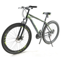 High quality 29 inch mountain bike 19 inch carbon steel frame 21 speed variable speed mountain bike mechanical disc brake