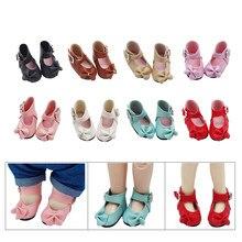1 par boneca sapatos para 1/6 bjd bonecas como se encaixam 15cm exo de pelúcia coreia kpop boneca acessórios crianças presente brinquedos