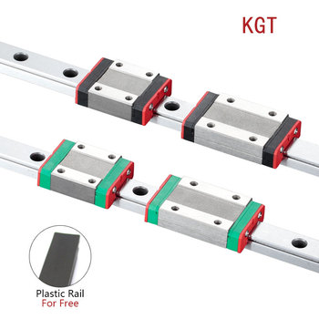 KGT 3D Printer MGN12C MGN12H L=100 350 400 500 600 800 900 1000mm miniature linear rail slide 1pcs MGN guide carriage - discount item  16% OFF Hardware