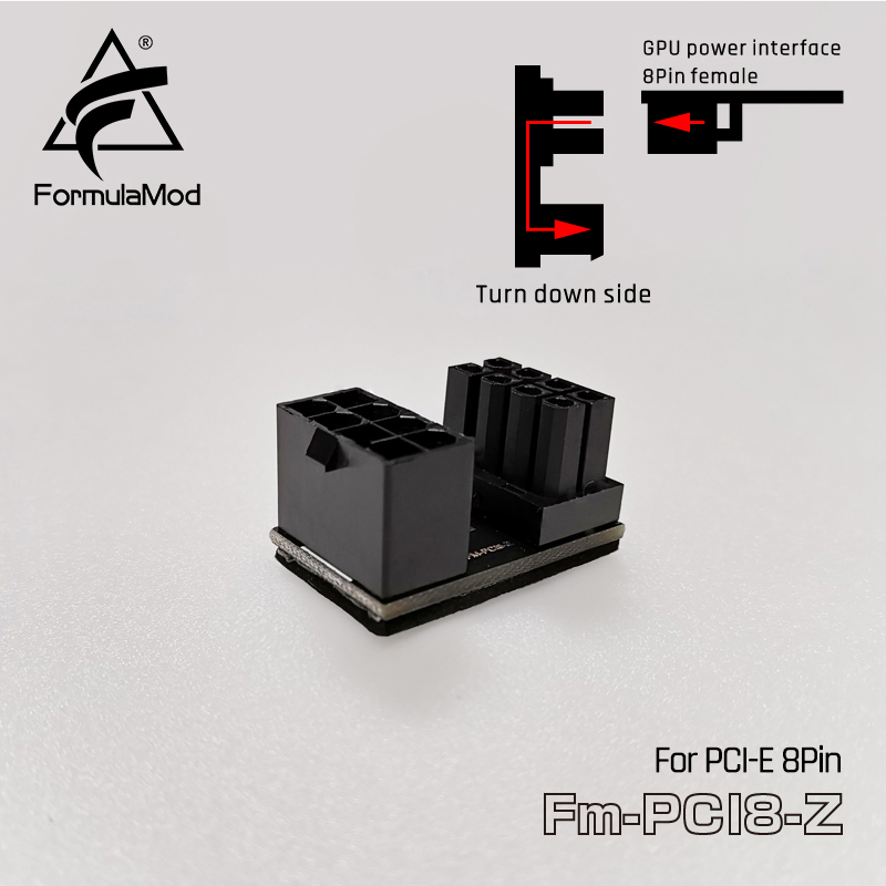 FormulaMod Fm-PCI/ATX/USB, преобразователь направления интерфейса, для интерфейса питания GPU/материнской платы ATX24pin USB3.0 - Цвет лезвия: PCI 8pin - down side