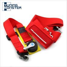 """Tuning Monster Sitz Gürtel mit logo Wettbewerb 4 Punkt Snap In 3 """"Sitz Gürtel Racing Harness sicherheit gürtel sitz harness mit Camlock"""
