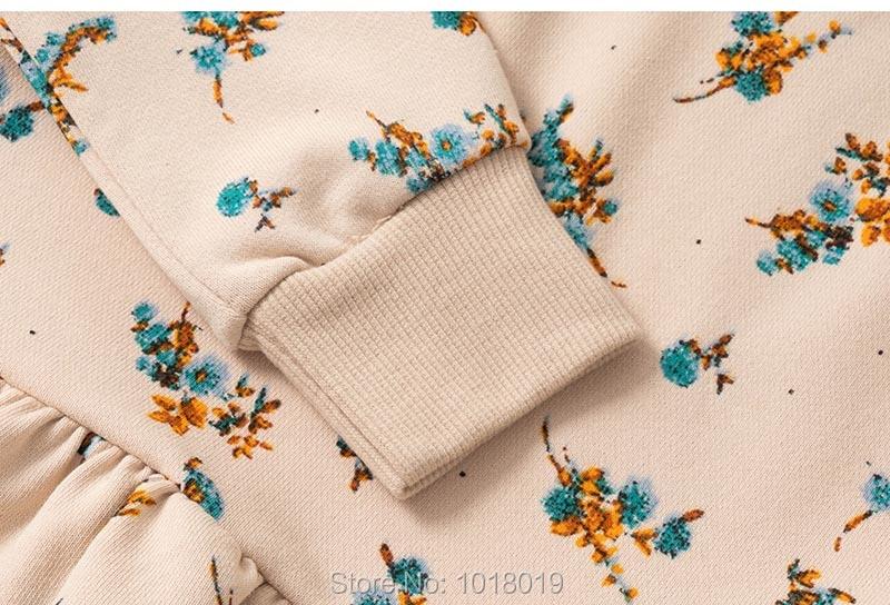 Hf6d3eb0987674af6b640de53fe4eb94f5 Brand 100% Terry Cotton Sweater Children t shirt Blouse 2020 Baby Girl Clothes Kids Hoodies Girls s Fleeces Sweatshirt Flower