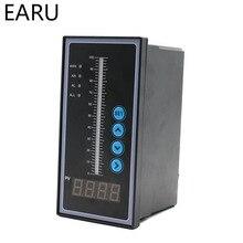 1 шт. AC85~ 260 в воды уровня жидкости масла Contorller световая Колонка дисплей Универсальный вход 4-20MA Передатчик датчик для насоса