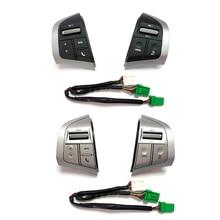 Botão audio do jogador do carro do rádio do interruptor de controle de cruzeiro para isuzu d max dmax mux para chevrolet D MAX