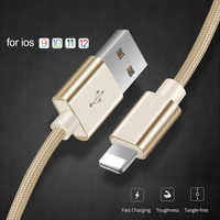 3.1A Fast Charging USB Cable for iPhone Xs max Xr X 8 7 6 plus 6s 5 s plus ipad mini mobile phone fast charger cord data