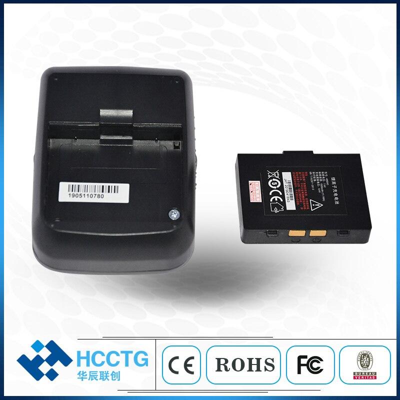 Ultralekki Mini przenośny termiczna Bluetooth drukarka przenośna HCC-T12
