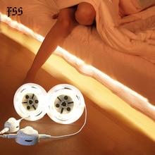 FSS Under Cabinet Lights Human Body Induction Charging Bed Light Plug-in Bedroom Home Aisle Bed Lights Shoe Light Bedside Lamps