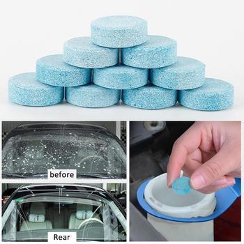 5 sztuk niebieski samochód okno czyszczenie mycia Super skoncentrowany Wiper Tablet tabletka musująca odplamiacz czyszczenie samochodu Detailing Tool tanie i dobre opinie CN (pochodzenie)
