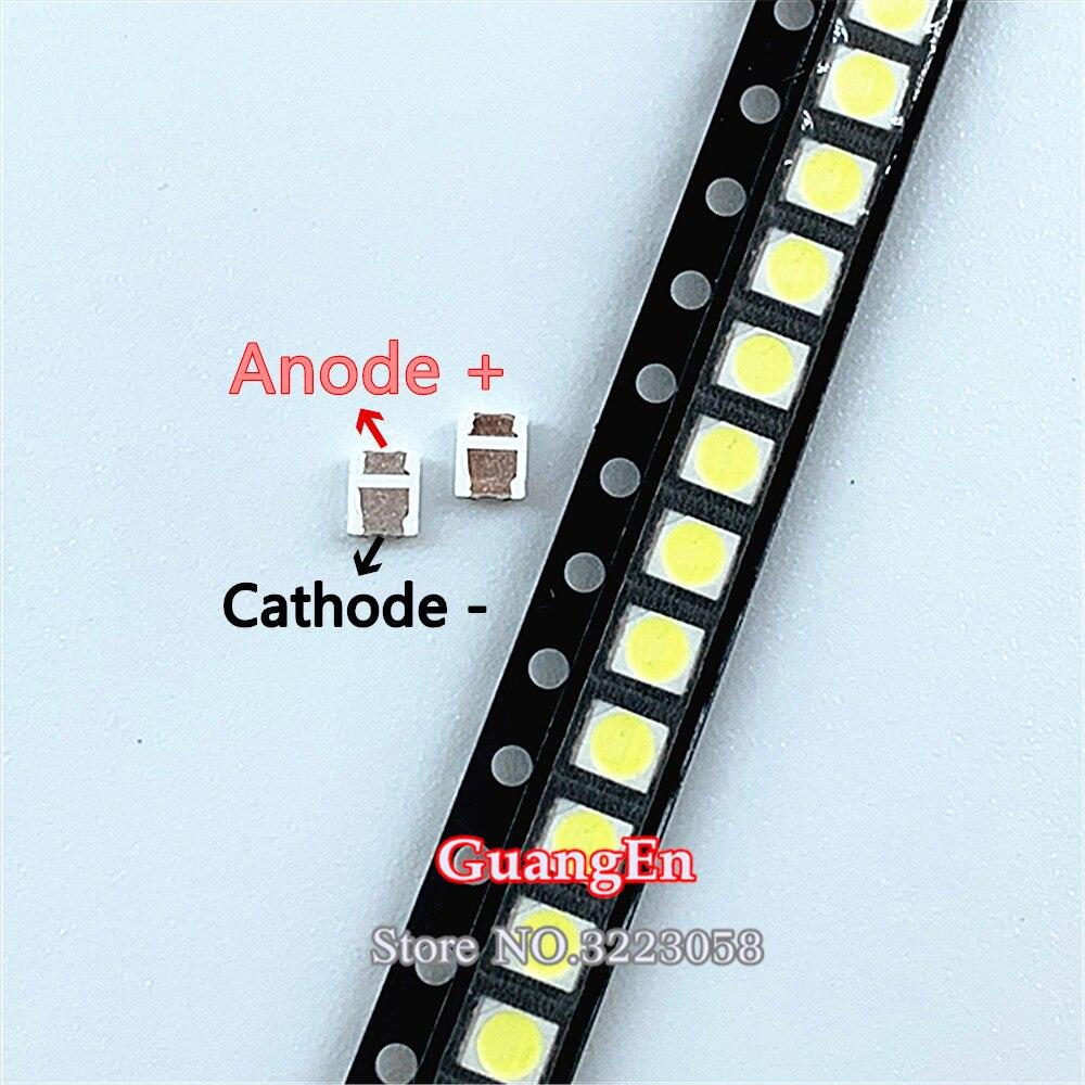 1000PCS For LEXTAR 2835 3528 1210 1.2W 3V 350MA SMD LED For Repair TV Backlight Cold White LCD Backlight LED