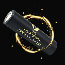 18650 lithium battery high capacity 3500mah 3.7V lithium Rechargeable batteries 18650 Li-ion Battery 18650 Flashlight battery(China)