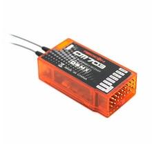 Redcon CM703 2.4 グラム 7CH DSM2 dsmx 対応受信機と ppm 出力リモコン jr DSX9 X11