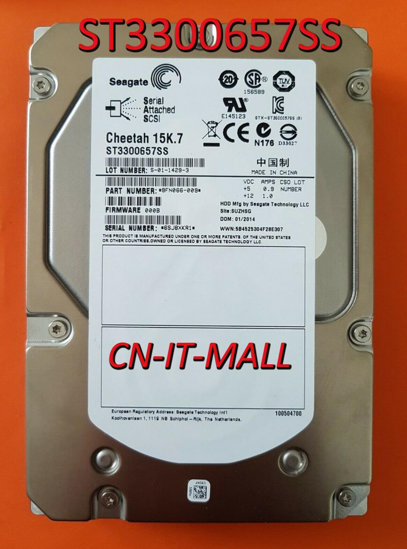 Seagate Cheetah 15K.7 ST3300657SS 300 ГБ 15000 об/мин 16 Мб кэш SAS 6 ГБ/сек. 3,5