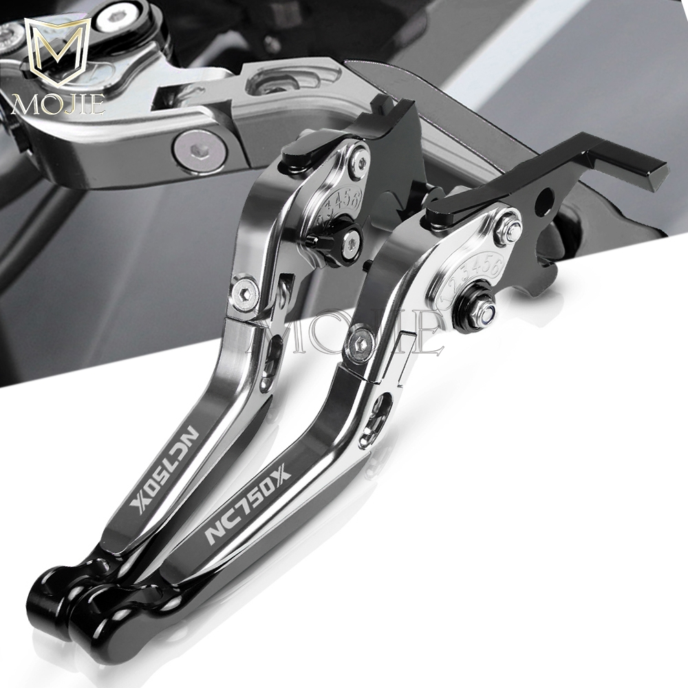 Motorcycle NC750X Brake Clutch Levers For Honda NC750 X NC 750 X NC 750X 2014-2015 CNC Folding Extendable Brake Clutch Levers