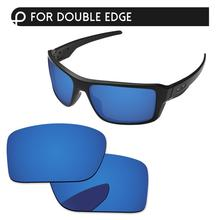 Papaviva Deep Water Mirror Polarized Replacement Lenses For Double Edge OO9380