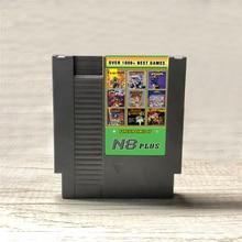 KY Technology N8 Plus OS V1.23 NES 8 비트 비디오 게임 콘솔 게임 카트리지 용 1 N8 리믹스 게임 카드의 최신 1000