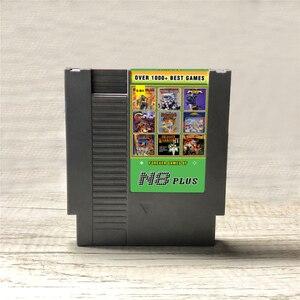 Image 1 - KY Technology N8 Plus OS V1.23 NES 8 비트 비디오 게임 콘솔 게임 카트리지 용 1 N8 리믹스 게임 카드의 최신 1000