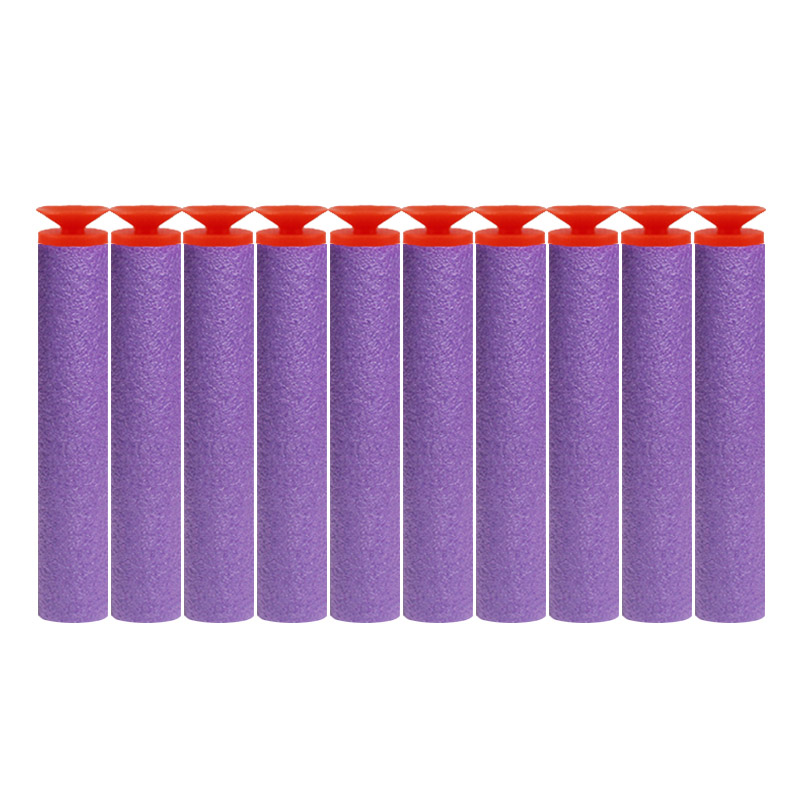 Image 3 - 100PCS For Nerf Bullets Soft Hollow Hole Head 7.2cm Refill Darts Toy Gun Bullets for Nerf Series Blasters Xmas Kid Children Gift-in Toy Guns from Toys & Hobbies
