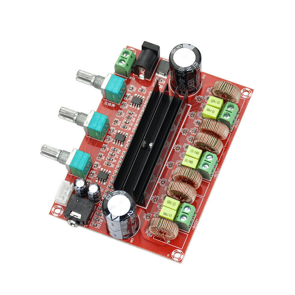 Mini Modul 80Wx2 + 100W 2,1 Power Amplificador TPA3116D2 4-8 <font><b>Ohm</b></font> Lautsprecher Verstärker Bord Digital Audio DC12-24V heimkino image
