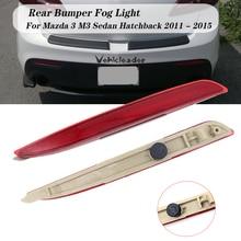 Left / Right Red Right Rear Bumper Bar Reflectors Light For Mazda 3 BL 2009-2013 RHD Bff4-51-5L0A / Bff4-51-5M0A