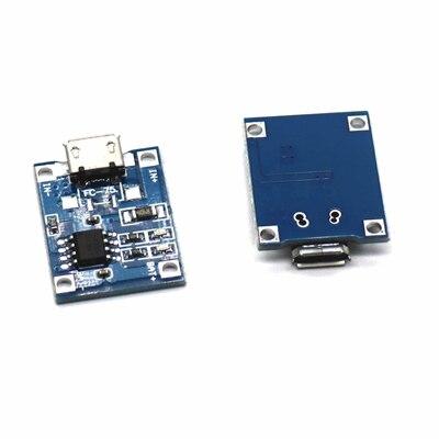 Зарядная плата Tp 3,7 Tp4056, модуль зарядного устройства для литиевой батареи 3,6 В 4,2 в 18650 в 1A Micro Usb 4056