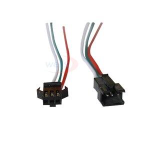 Image 2 - 100 זוגות 3pin 4pin 5pin 6pin JST LED מחברים, זכר ונקבה מחבר עבור 3528 5050 RGB RGBWW RGBW LED רצועת אור