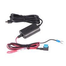 AOZBZ Mini USB ABS 12v naar 5v Rijden Recorder USB Step-down Kabel GPS Navigatie Auto Dash cam Charger Adapter Harde Draad Kit(China)