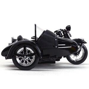 Image 5 - Maisto 1:18 1948 FL دراجة نارية sidecar دييكاست سبيكة نموذج دراجة نارية لعبة