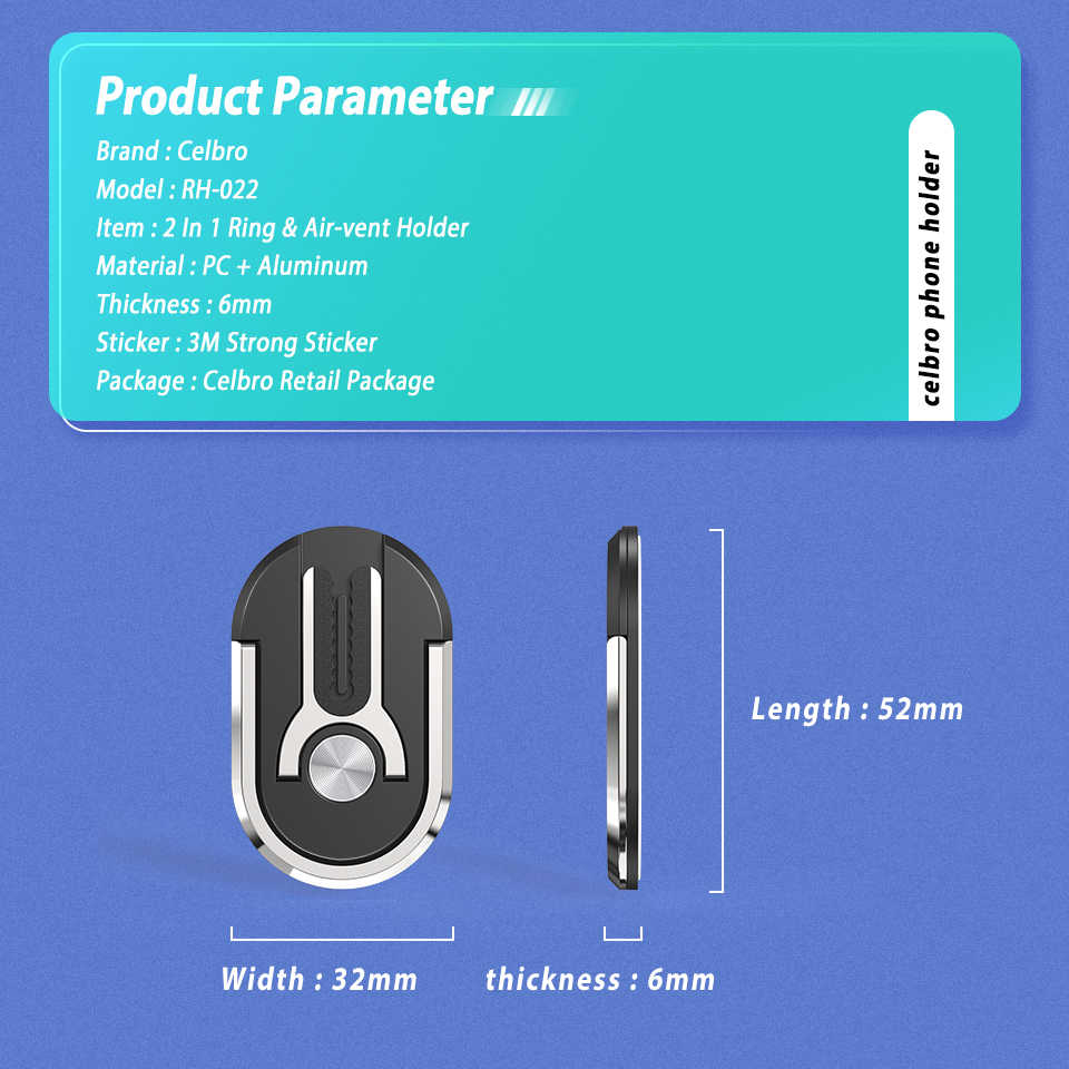 2IN1 אצבע טבעת רכב טלפון מחזיק אוויר Vent הר סטנד מגנטי אצבע טבעת נייד Smartphone תמיכה סוגר עבור iPhone סמסונג
