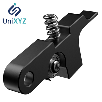 Unixyz Black Titan Aero Extruder Idler Arm All Metal for Titan aero extruder Prusa i3 MK2 3D Printer 4max pro 3d Printer Parts mellow all metal nf crazy hotend v6 copper nozzle for ender 3 cr10 prusa i3 mk3s alfawise titan bmg extruder 3d printer parts