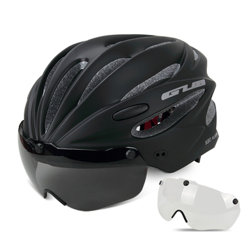GUB K80 Cycling Helmet with Visor Magnetic Goggles Integrally-molded 58-62cm for Men Women MTB Road Bicycle  Bike Helmet 11