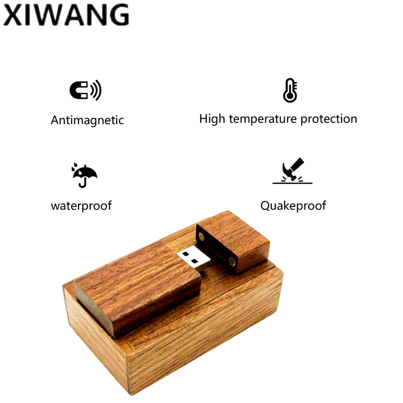 Image 1 - nature Wood USB flash drive 128gb new usb disk 2.0 4GB 8GB 16GB 32GB 64GB pen drive pendrive wedding gift Laser Free Custom logo-in USB Flash Drives from Computer & Office