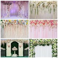 Yeele photophone foto backdrops casamento palco flores decoração árvore roxo fundos fotográficos para estúdio de fotografia atirar adereços