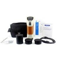CS-220 colorímetro handheld com 100 grupos padrão da amostra armazenou o medidor da diferença da cor do verificador do medidor da cor