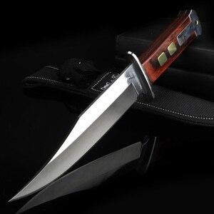 Практичный Нож для кемпинга, железная ковка, тактический охотничий нож, нож для выживания, многофункциональный инструмент для дайвинга + кр...