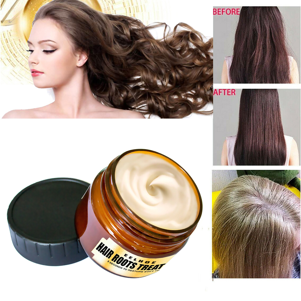 60ml Magical Keratin Hair Care Mask 5s Quickly Repair Supple Dry Damaged Hair Natural Botanucal Hair & Scalp Treatments TSLM2