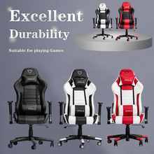 Furgle Game Armchair Furniture Chair Play for Gaming Chair red Leather Boss Chair for Home Game Competitve Seats for WCG Gaming