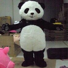 Костюм талисман панда пушистые костюмы для косплея вечерние
