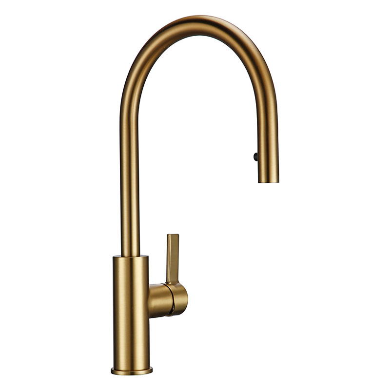 Kitchen Sink Faucet Contemporary Creativity  Kitchen Faucet Polishing Rotary Switch Bronze Sink Faucet Home Kitchen Facilities