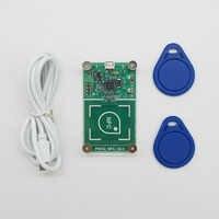 Lector inalámbrico USB PN532, NFC RFID, modo escritor, copiadora de tarjetas IC, copia de RFID, 13,56 MHz, RFID