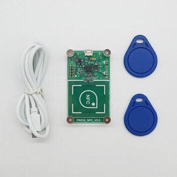 USB PN532 NFC RFID Wireless Reader Writer Mode IC CARD COPYER IC copy RFID copy copyer 13.56MHz RFID yongkaida 13 56mhz rfid usb bluetooth rfid reader acr1255u j1 nfc reader