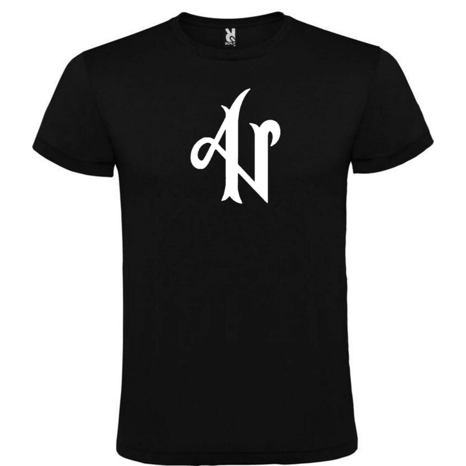 Camiseta Negra Adexe Y Nau Logo 100 Algodon Tallas S M L Xl Xxl Xxxl