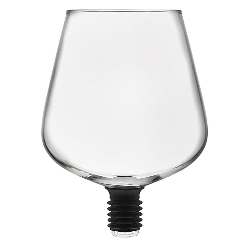ABUI Barware Transparent Direct To Drinking Wine Decanter Glass Cup Packed In Wine Bottle Stopper Bar Tools|Wine Glasses| |  - title=