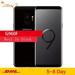 Samsung Galaxy S9 G960F оригинальной ОС Android мобильный телефон 4 аппарат не привязан к оператору сотовой связи Exynos 9810 Octa Core 5,8