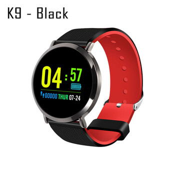 K9 Smart Watch Sports Bracelet Fitness Tracker Blood Pressure Heart Rate Smart Band Wristband image