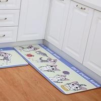 Skid Resistant PVC Printed Carpet Bathroom Mat Living Room Floor Home Sofa Sturdy Nordic Style Leaf Pattern Kitchen Decoration|Mat|Home & Garden -