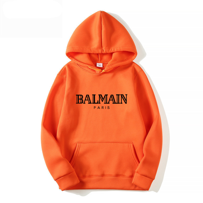 BALMAIN Hoodies Sweatshirt Tracksuit Pullover Print Woma Design Mens Casual And Man NEW